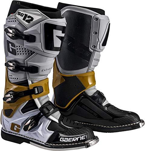Gaerne SG-12 Boots-Grey/Magnesium/White-9