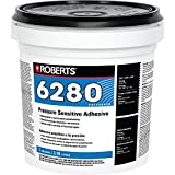 Roberts R6280-1 Flooring Adhesive, 1 Gallon, Milky White