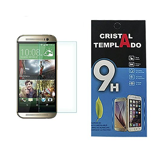 Fologar Protector de Pantalla de Cristal Templado 0,3 mm para HTC ONE M8