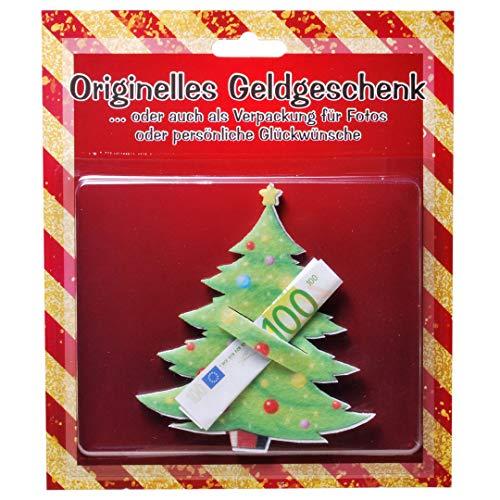 Udo Schmidt Tannenbaum Weihnachtsbaum Filz für z.B. Geldgeschenk, ca. 11,5 x 10 cm