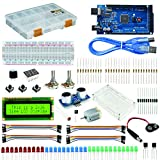 Robocombo Ultimate Starter Kit y Kit de Proyecto Mega, Mega 2560 R3, Mega 2560 R3 Plexy Box, Kits de sensores For Arduino, Starter Set