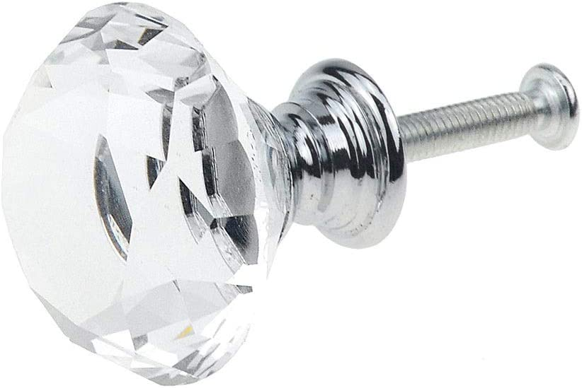 Max 66% OFF JYDQM 30mm Crystal Glass Ball Knobs Super popular specialty store Design Drawer Pulls Cupboard