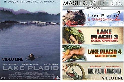 Lake Placid 1-2-3-4 + Capitolo Finale e Lake Placid Vs Anaconda (5 DVD) Edizione Italiana