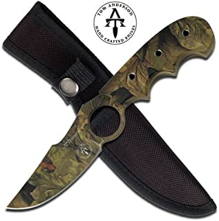 Master Cutlery TA-94CA Tom Anderson Overall Fixed Blade Knife, 7-Inch