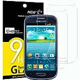 NEW'C 2 Stück, Schutzfolie Kompatibel mit Samsung Galaxy S3 Mini (GT-I8190) panzerglasfolie, Frei von Kratzern, 9H Härte, HD Displayschutzfolie, 0.33mm Ultra-klar, Ultrabeständig