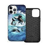 Orca Wave Jerry Lofaro - Cover protettiva per cellulare compatibile con iPhone 12/iPhone 12 Pro, in morbido TPU antiurto