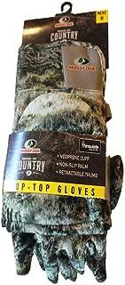 Mossy Oak Youth Pop-Top Gloves, Breakup Infinity
