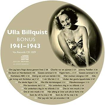 Den Kompletta Ulla Billquist 1941-1943 (Bonus Version)