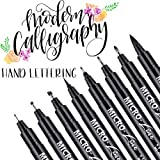 Hand Lettering Pens, Calligraphy Brush Pens Art Markers for Beginners Writing, Sketching, Drawing,...