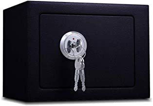 Security Lock Boxes Multi-Color Cabinet Safes Safe Box Safes for Safety, Key Safe Steel Structure Office Household Small -...