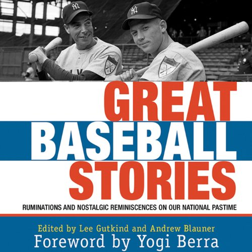 Great Baseball Stories audiobook cover art