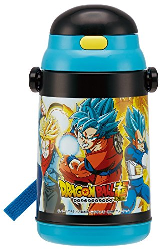 SKATER Insulated Water Bottle with straw (400ml)'Dragon...