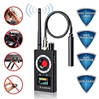 Detector de RF inalámbrico antiespía, detector de errores para cámara oculta,...