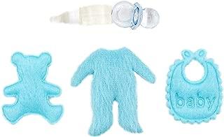 Beb/é a Gatas de Goma en Miniatura para Casa de Mu/ñecas BL