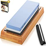 Sharp Pebble Premium Whetstone Knife Sharpening Stone 2 Side Grit 1000/6000 Waterstone |