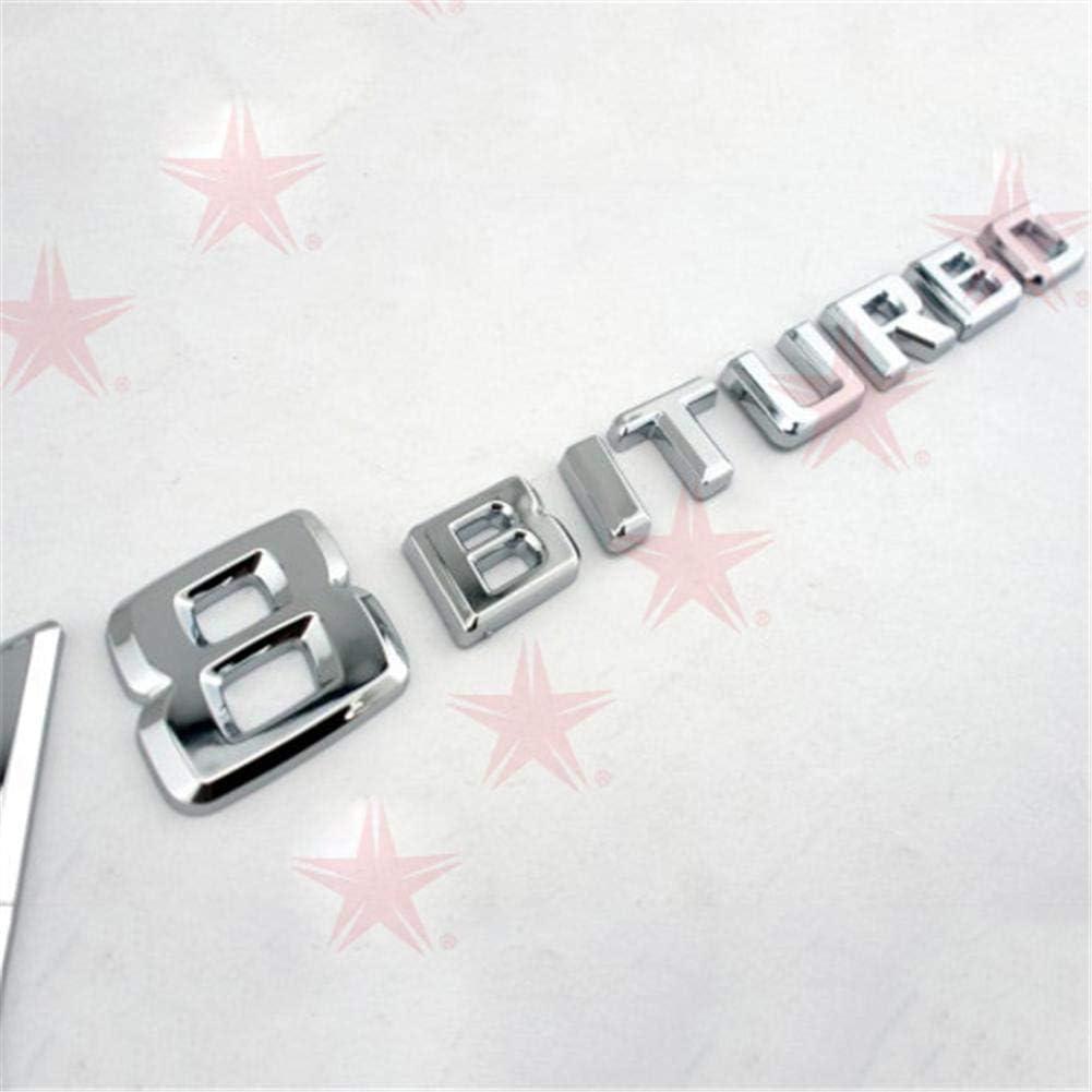 Auto Aufkleber Hohe Qualität Emblem Fahrzeug Logos Kompatibel Für Benz V8 Biturbo Küche Haushalt