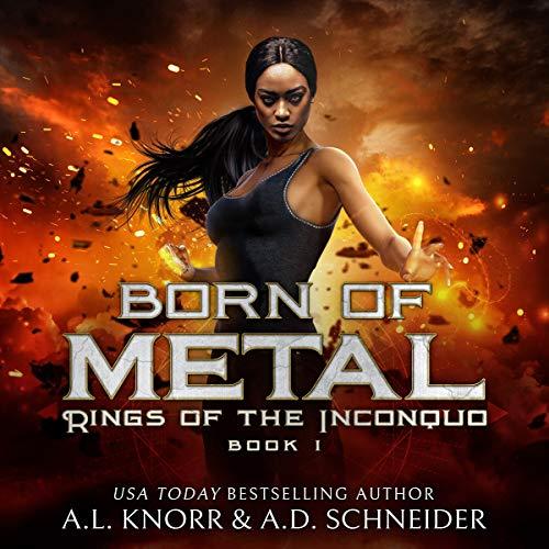 Page de couverture de Born of Metal