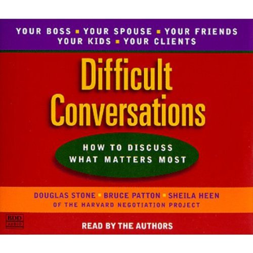 Difficult Conversations cover art