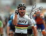 Limited Edition Mark Cavendish unterzeichnet Foto Autogramm