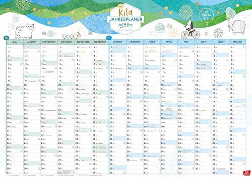 Der Kita-Jahresplaner (Juli 2021-August 2022): Alle Termine auf einen Blick. DIN A1 Wandkalender mit Herz. Mit dem Kita-Helfer organisieren & planen. ... & Hort (Kleine Helfer im Kita-Alltag)