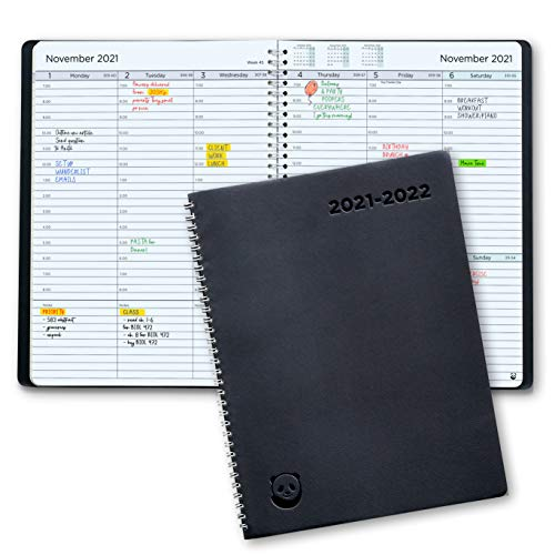 Academic Diary 2021-2022 by SmartPanda – A4 Week to View Planner - Simple Design Inspires...