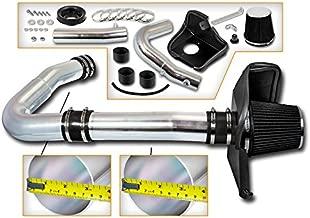 Cold Air Intake System with Heat Shield Kit + Filter Combo BLACK Compatible For 11-16 Dodge Challenger/Dodge Charger/Chrysler 300 3.6L V6