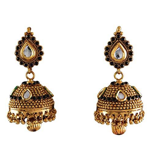 JewelryGift Público profesional. Personas consumidores latón chapado en oro other-shape Zafiro azul CZ