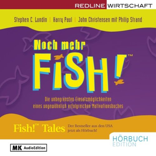 Noch mehr Fish! audiobook cover art