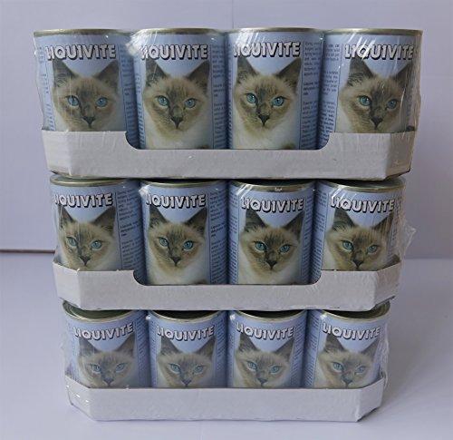 Liquivite Suppe für Katzen 36x 395g Großes Dosen