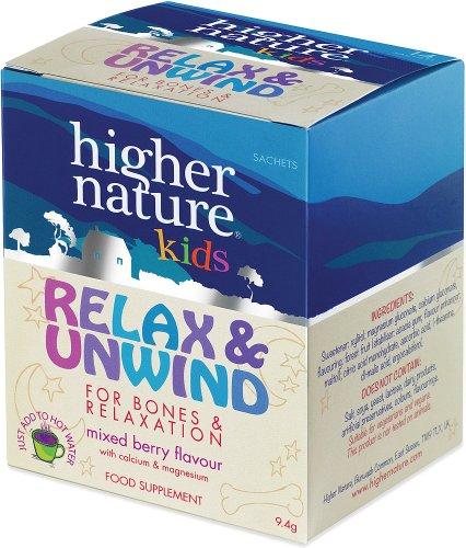 Relax & Unwind - Higher Nature Kids Range - 10 x 9.4gm sachets