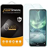 (3 Pack) Supershieldz for Nokia 7.2 Tempered Glass Screen Protector, Anti Scratch, Bubble Free