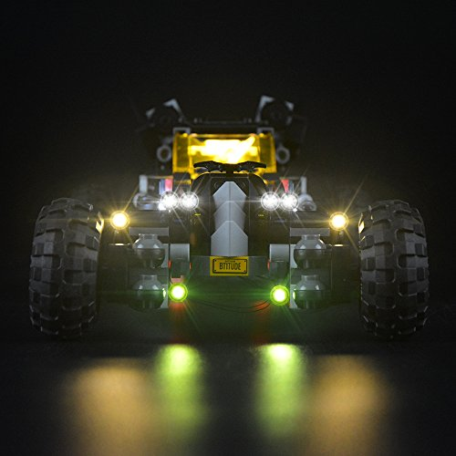 LIGHTAILING Licht-Set Für (The Batman Movie The Batmobile) Modell - LED Licht-Set Kompatibel mit Lego 70905(Modell Nicht Enthalten)