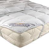 PROCAVE Micro Confort Protector colchón en Varios tamaños, Made in Germany, Funda colchón de Microfibra y poliéster, Soft Touch, Válido para Camas de Agua y Box Spring, 150x200 cm