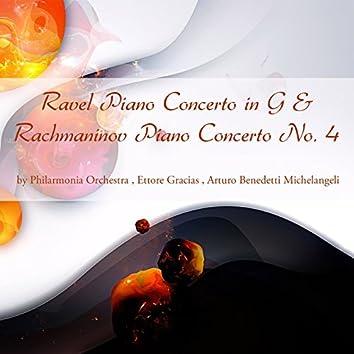 Ravel: Piano Concerto in G Major - Rachmaninoff: Piano Concerto No. 4