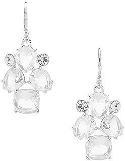 Crystal Leverback Earrings