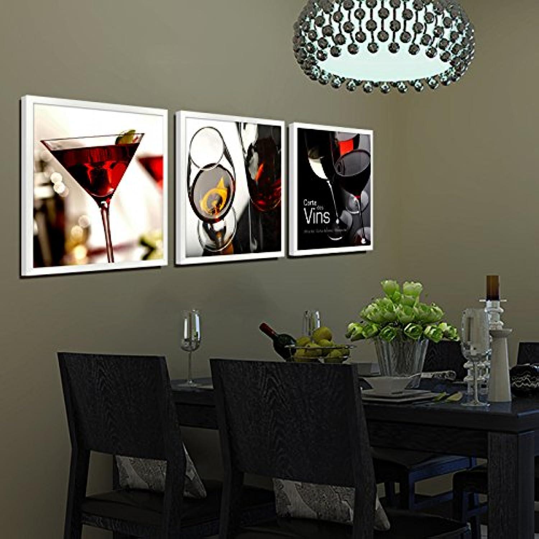 Entrega gratuita y rápida disponible. Paintsh Pintura Decorativa Arte Mural Pintura Mural Restaurante Colgar Colgar Colgar Cuadro Barra de Pintura Pintura Pintura óleo Pintura Mural Triple Bodegón Pintura Abstracta, 60  60  promociones