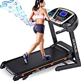 DR.GYMLEE Folding Treadmill for Home with 15% Automatic Incline,300LBS...