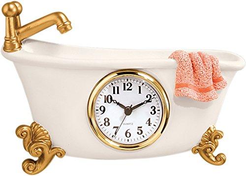 Cute Mini Bathtub Clock for Bathroom