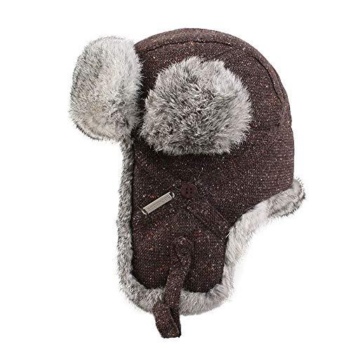 QWEAS Receptor del Casquillo del Sombrero Caliente del Invierno del con Prueba De Viento Máscara Ideal para Practicar Senderismo Esquí Patinaje Y Escalada Unisex