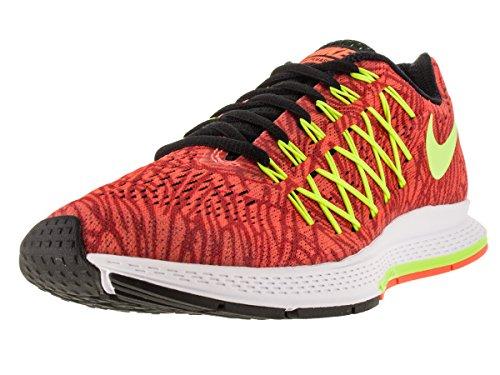 Nike Wmns Air Zoom Pegasus 32 Print, Scarpe da Corsa Donna, Arancione, Rosso (Hyper Orange Volt Unvrsty Red), 43 EU