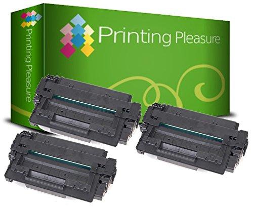 Printing Pleasure 3 Toner kompatibel für HP Laserjet 1160 1320 3390 3392 Serie | Q5949A 49A