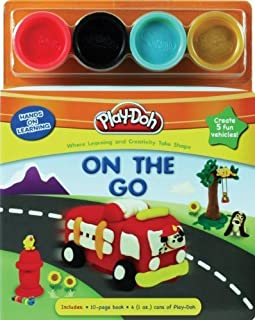 PLAY-DOH Hands on Learning: On the Go by Amerikaner, Susan (2014) Hardcover