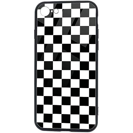 Nero Scacchi Slim Cover per iPhone 7/8 / SE TPU Protettivo Phone ...