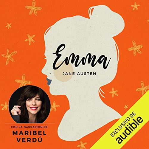 Diseño de la portada del título Emma
