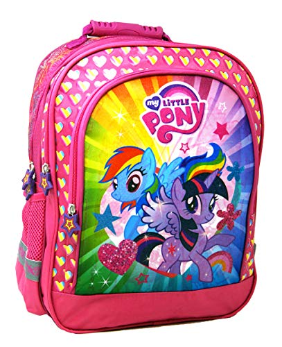My Little Pony – Super rugzak/schoolrugzak – 38 x 29 x 17 – geschikt voor DIN A4 – motief: Rainbow Dash & Twilight…