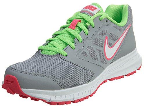 Nike Nike Damen WMNS Downshifter 6 Laufschuhe, Grau Weiã Wolf Grey White Vltg Grn White, 35.5 EU