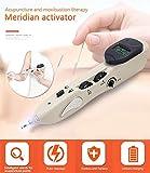 Pluma eléctrica de la acupuntura puntos elegantes de la búsqueda de la acupuntura Massager profunda del tejido del masaje para la parte posterior, el pie, el cuello, el hombro, la liberación del dolor