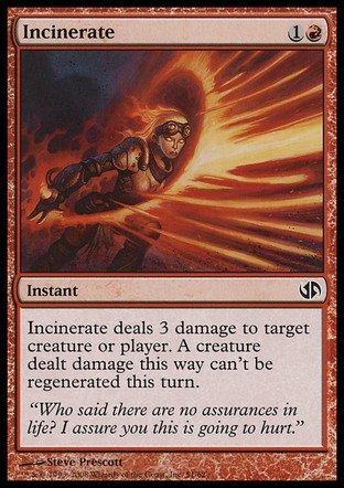 Magic The Gathering - Incinerate - Duel Decks: Jace vs Chandra