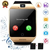 Smartwatch Unlocked Watch Cell Phone Bluetooth Smart Watch with Camera Handsfree Call Step