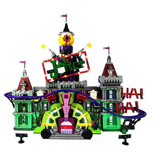 Bloques de construcción, Joker Manor, Club Paradise, Bloques de construcción y Juguetes Compatible con Lego